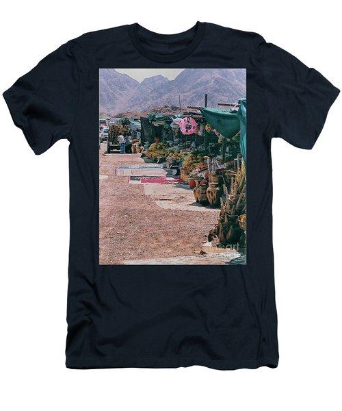 Middle-east Market Men's T-Shirt (Athletic Fit)