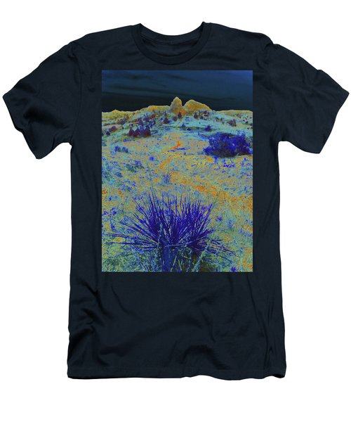 Midnight At The Burning Coal Vein Men's T-Shirt (Athletic Fit)