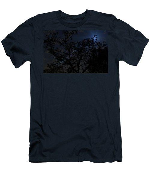 Midnight Blue Men's T-Shirt (Athletic Fit)