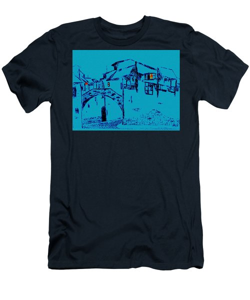 Midnight In Tuscany Men's T-Shirt (Athletic Fit)
