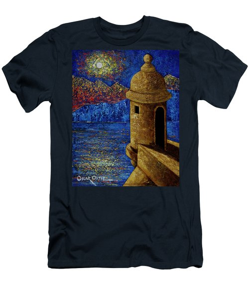 Midnight Mirage In San Juan Men's T-Shirt (Athletic Fit)