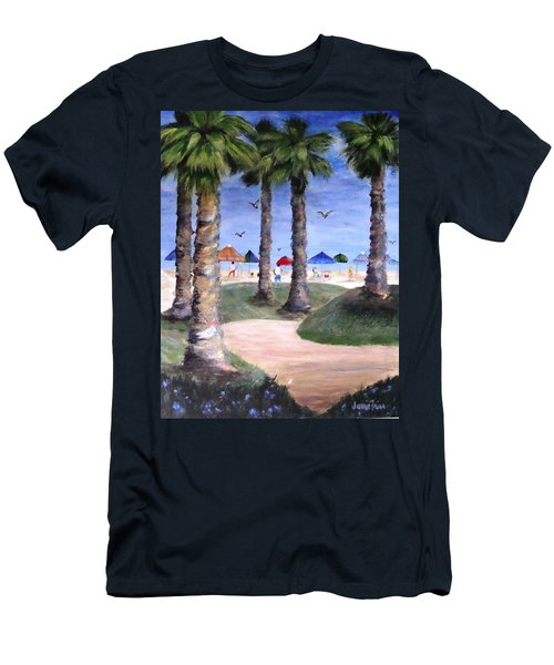 Mike's Hermosa Beach Men's T-Shirt (Athletic Fit)