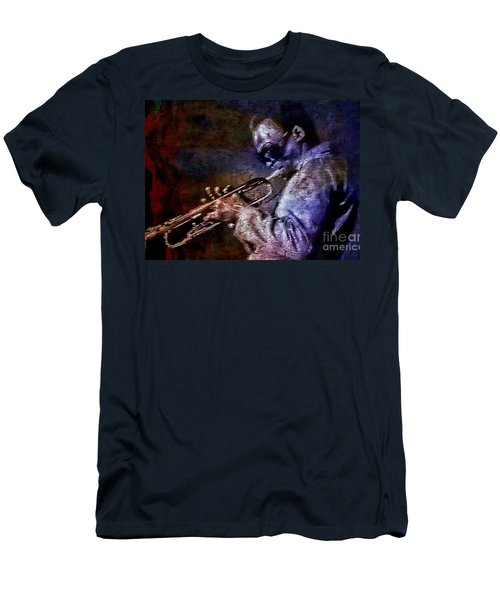 Miles Davis Jazz Legend 1969 Men's T-Shirt (Athletic Fit)