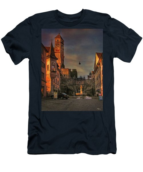 Men's T-Shirt (Athletic Fit) featuring the photograph Main Square by Hanny Heim