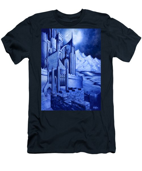 Minas Tirith Men's T-Shirt (Slim Fit) by Curtiss Shaffer