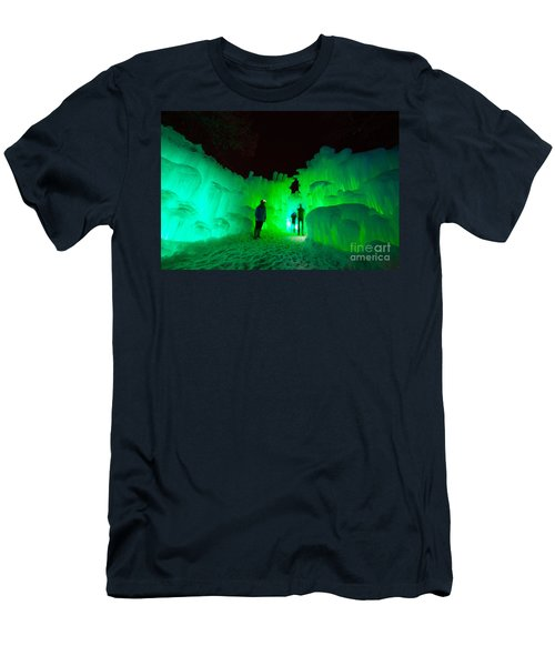 Ice Castles Of Minnesota Men's T-Shirt (Athletic Fit)