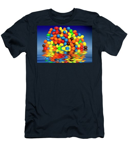 Men's T-Shirt (Slim Fit) featuring the photograph Mm Chocolate Sweets by David French