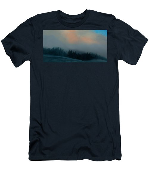 Mont Tremblant Vista Men's T-Shirt (Slim Fit) by Jim Vance