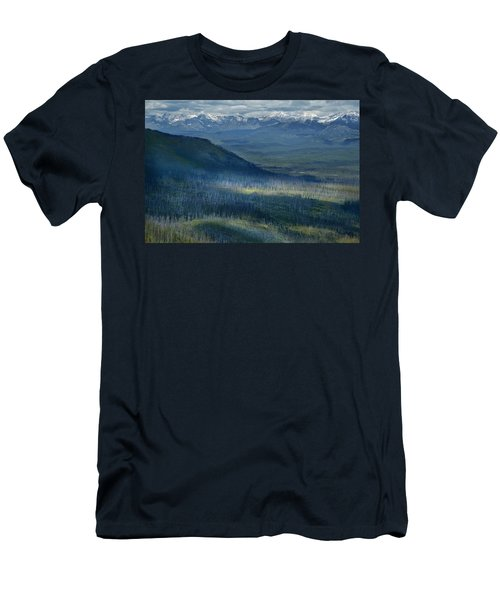 Montana Mountain Vista #3 Men's T-Shirt (Athletic Fit)