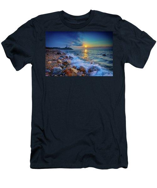 Montauk Sunrise Men's T-Shirt (Athletic Fit)