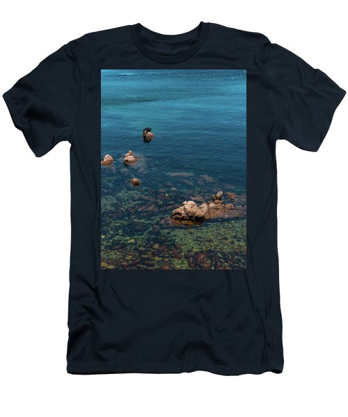 Monterey Men's T-Shirt (Slim Fit) by Martina Thompson