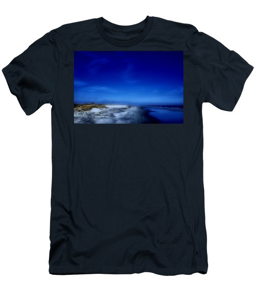 Mood Of A Beach Evening - Jersey Shore Men's T-Shirt (Athletic Fit)