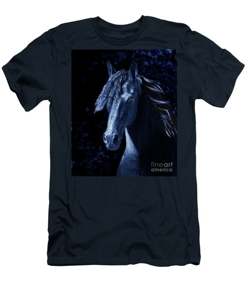 Moody Blues Men's T-Shirt (Slim Fit) by Melinda Hughes-Berland