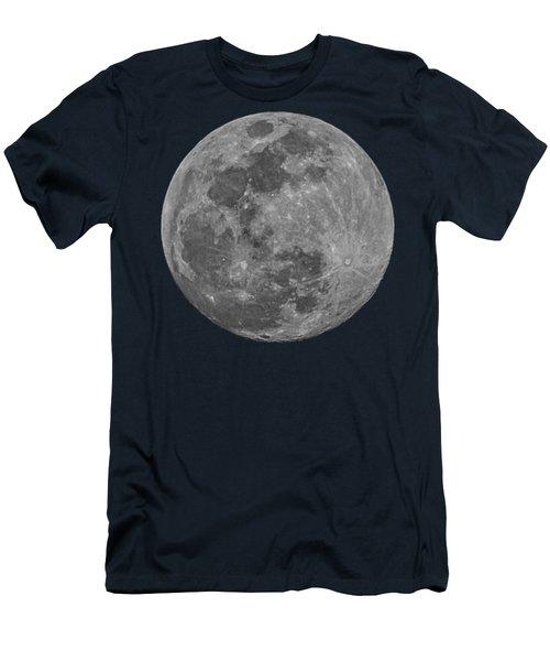 Moon 98 Percent Men's T-Shirt (Athletic Fit)