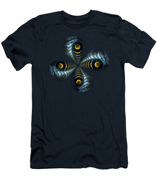 Moon Cross Men's T-Shirt (Athletic Fit)