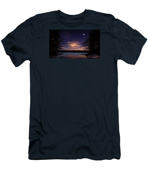 Moon Lake Men's T-Shirt (Athletic Fit)