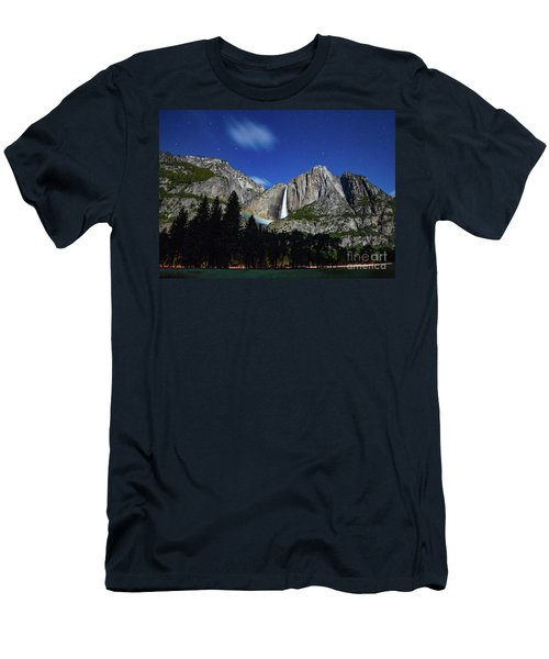 Moonbow And Louds  Men's T-Shirt (Athletic Fit)
