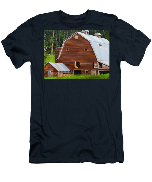 Mooney's Barn Men's T-Shirt (Athletic Fit)