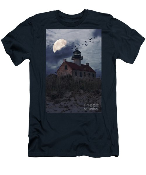 Moonlight At East Point Men's T-Shirt (Athletic Fit)
