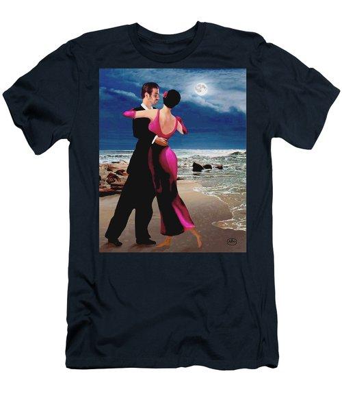 Moonlight Dance Men's T-Shirt (Athletic Fit)