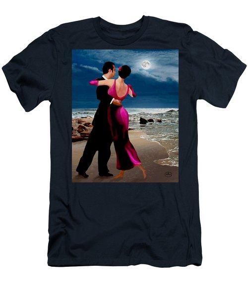 Moonlight Dance V2 Men's T-Shirt (Slim Fit) by Ron Chambers