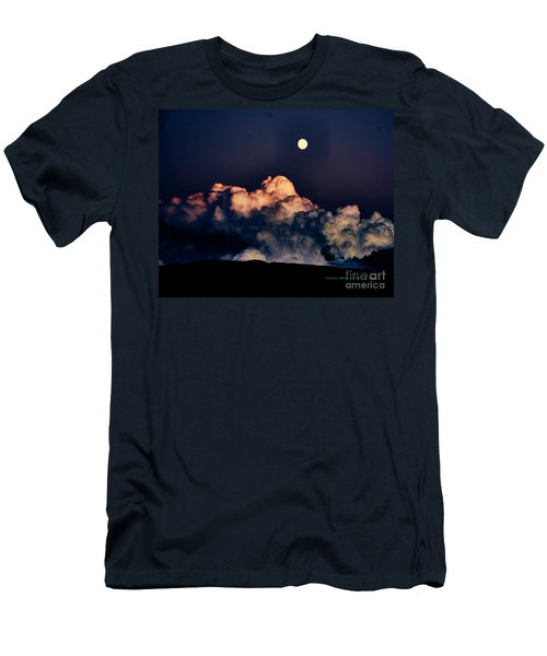 Moonrise In Taos Men's T-Shirt (Athletic Fit)