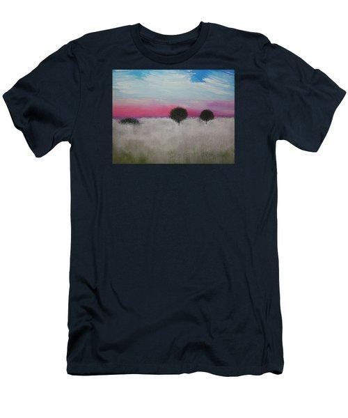 Morning Dew Men's T-Shirt (Slim Fit) by J R Seymour