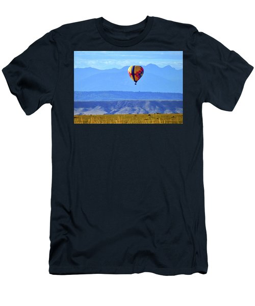 Morning In Montana Men's T-Shirt (Slim Fit) by C Sitton