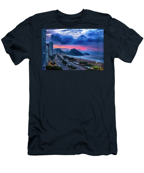 Morning In Rio Men's T-Shirt (Athletic Fit)