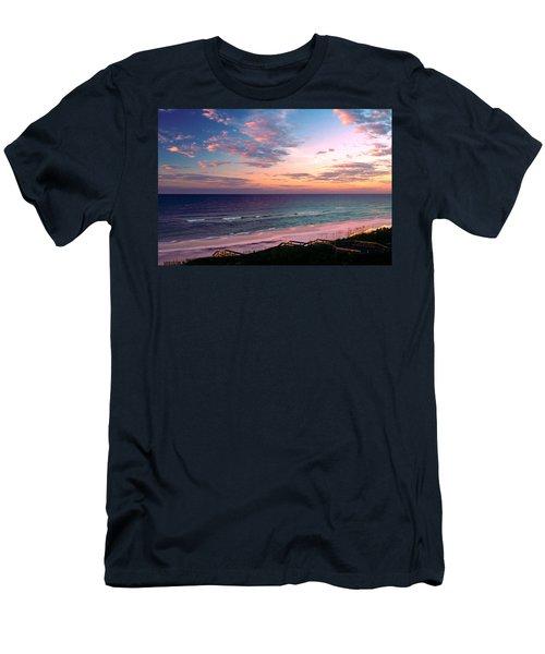 Morning Light On Rosemary Beach Men's T-Shirt (Slim Fit) by Marie Hicks