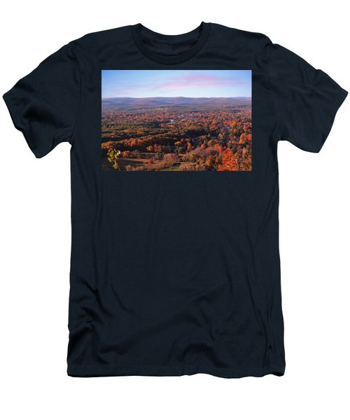 Mount Tom View, Easthampton, Ma Men's T-Shirt (Athletic Fit)
