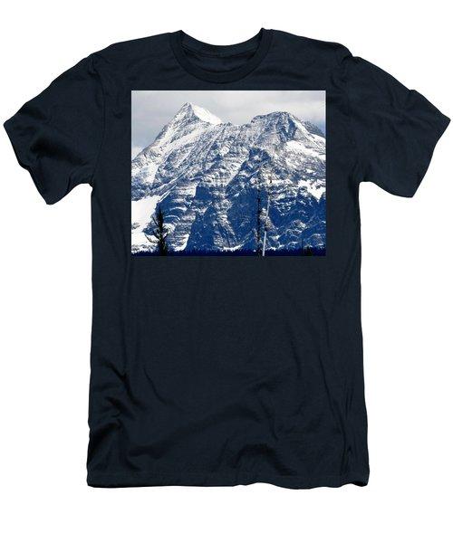 Mountain Snow Men's T-Shirt (Athletic Fit)