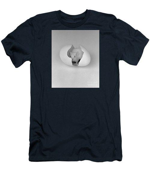 Mouse House Men's T-Shirt (Slim Fit) by Michael Swanson