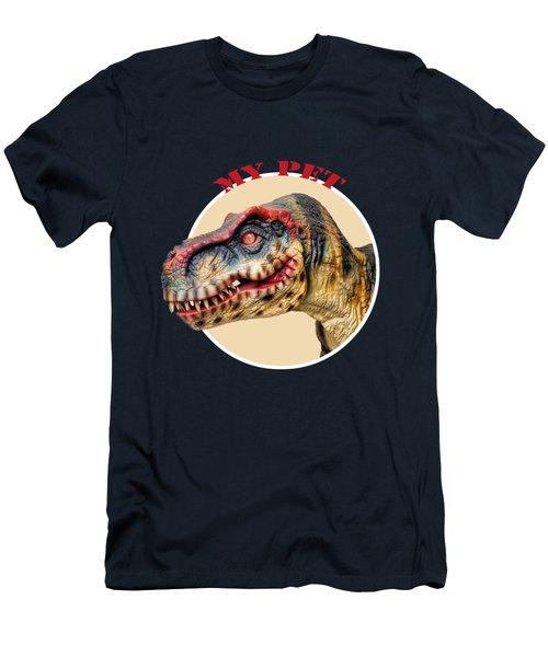 Mr. T-rex, My Pet Men's T-Shirt (Athletic Fit)