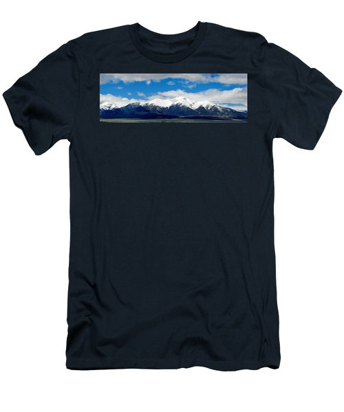 Mt. Princeton Colorado Men's T-Shirt (Athletic Fit)