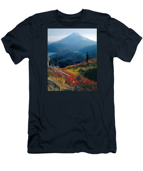 1m4903-mt. St. Helens 1975  Men's T-Shirt (Athletic Fit)