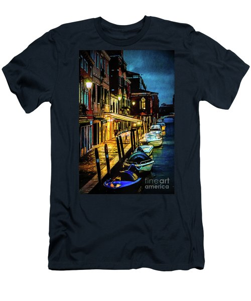 Murano At Night. Men's T-Shirt (Athletic Fit)