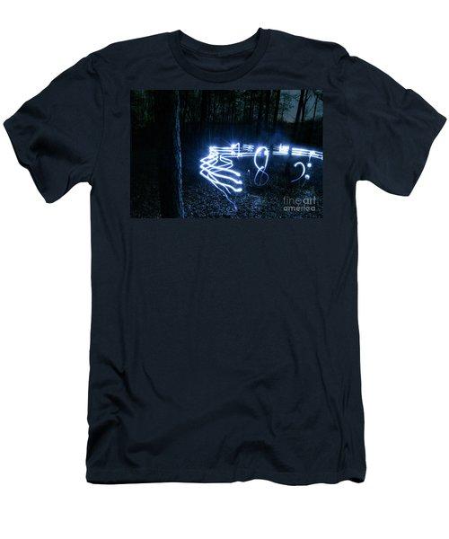 Music Woods Men's T-Shirt (Athletic Fit)