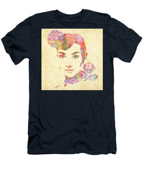 My Fair Lady -  Audrey Hepburn Men's T-Shirt (Athletic Fit)