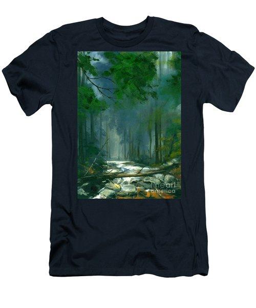 My Secret Place II Men's T-Shirt (Slim Fit) by Michael Swanson