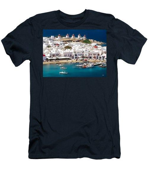 Mykonos Men's T-Shirt (Athletic Fit)