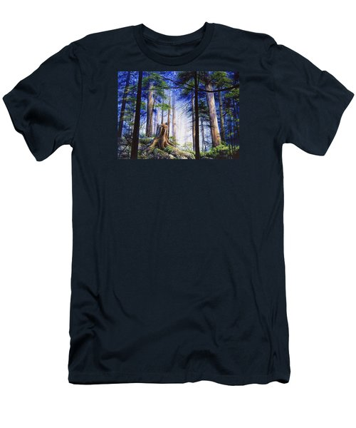 Mystic Forest Majesty Men's T-Shirt (Athletic Fit)