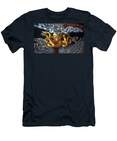 Men's T-Shirt (Athletic Fit) featuring the relief Nakamachi01 by Yoshimitsu Takuki