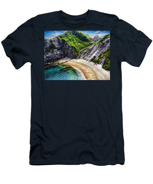 Natural Cove Men's T-Shirt (Slim Fit) by Anthony Dezenzio