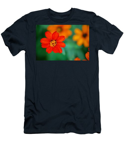 Men's T-Shirt (Slim Fit) featuring the photograph Nature's Glow by Debbie Karnes