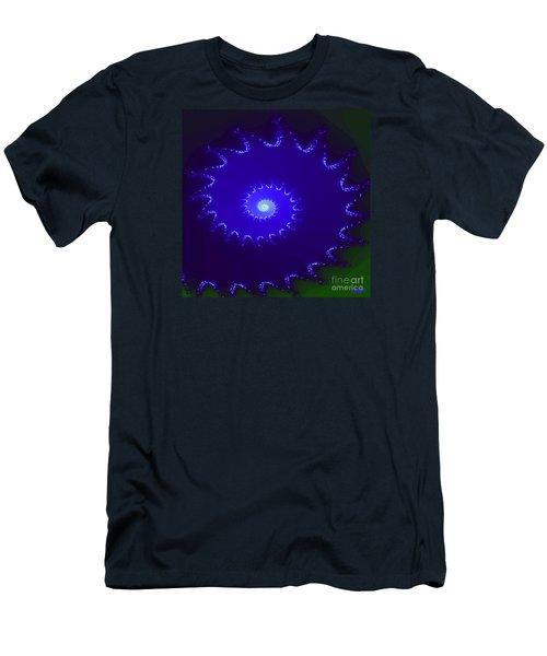 Men's T-Shirt (Slim Fit) featuring the digital art Nautilus by Dragica  Micki Fortuna