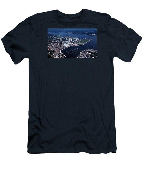 Naval Academy Men's T-Shirt (Slim Fit) by Skip Willits