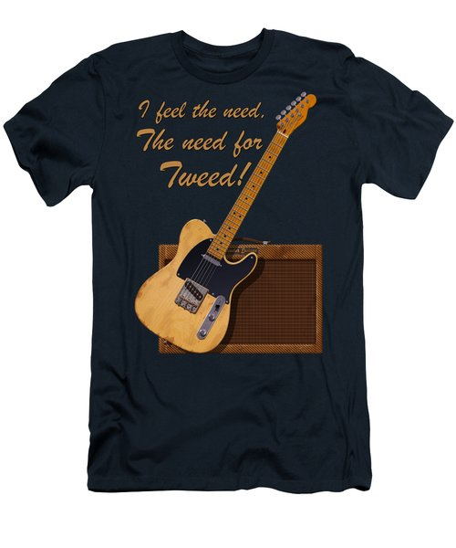 Need For Tweed Tele T Shirt Men's T-Shirt (Athletic Fit)