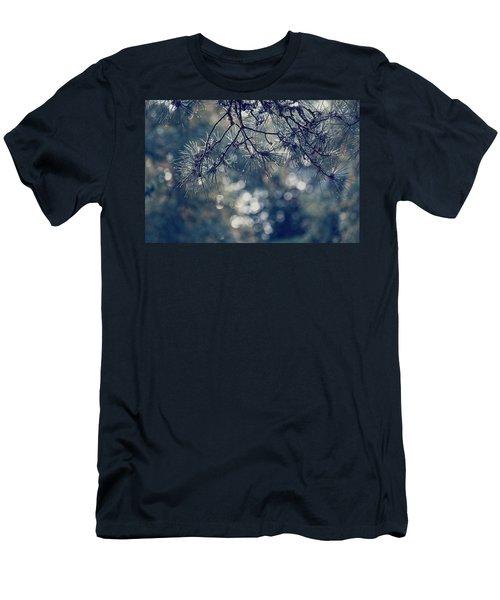 Needles N Droplets Men's T-Shirt (Athletic Fit)