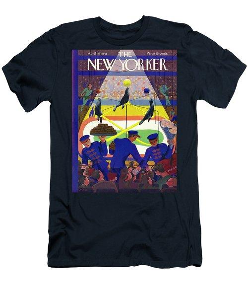 New Yorker April 19 1941 Men's T-Shirt (Athletic Fit)